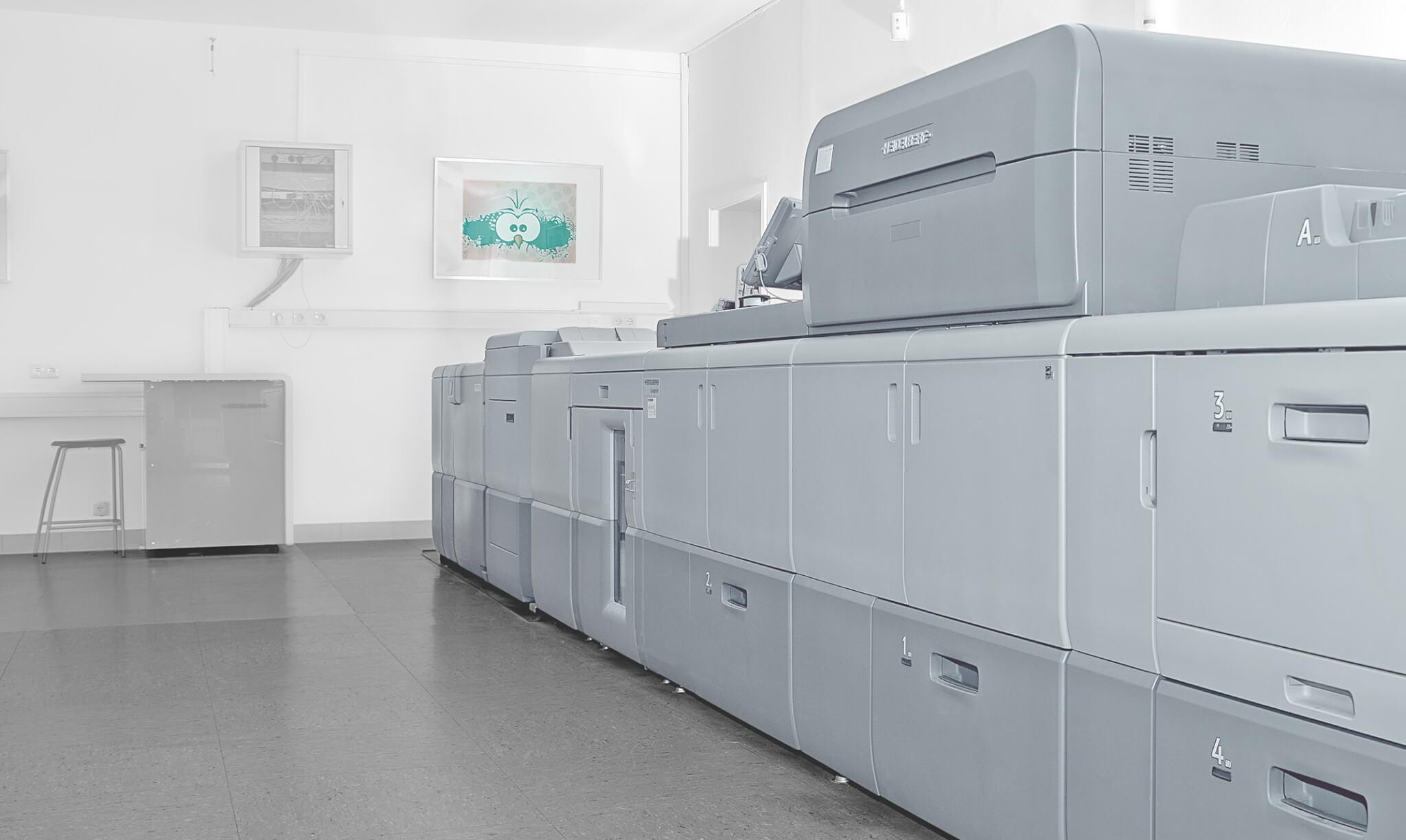 Drucken Sie Digital mit unseren Digitalendruckmaschinen - Ihre Druckerei in Lübeck