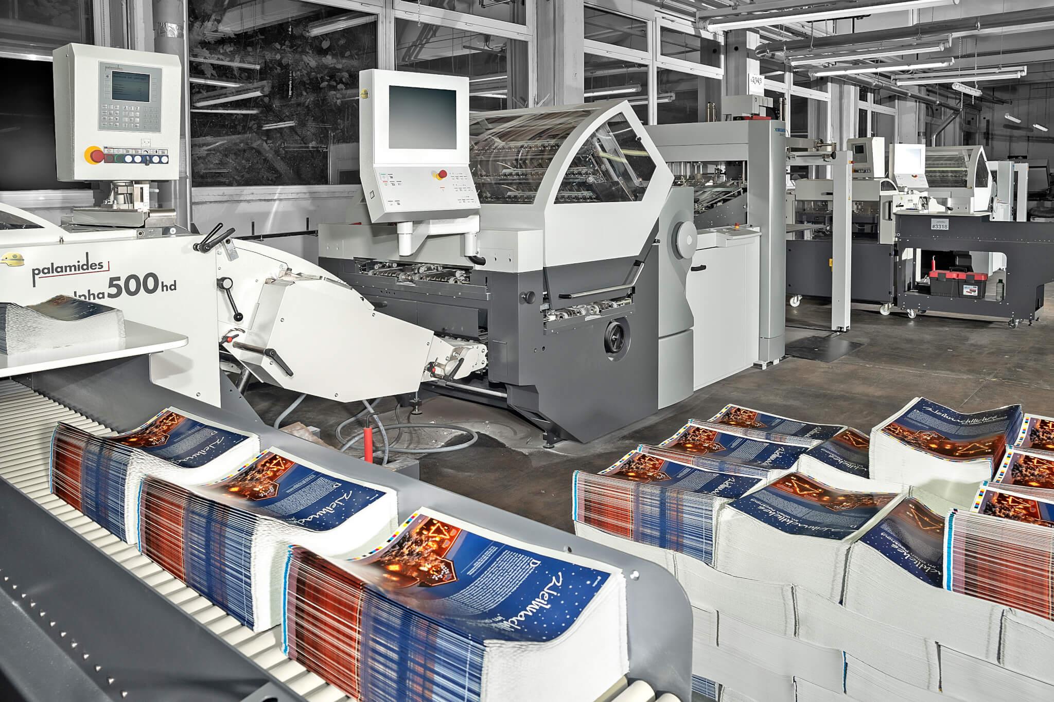 Unsere neuen Heidelberger Falzmaschinen